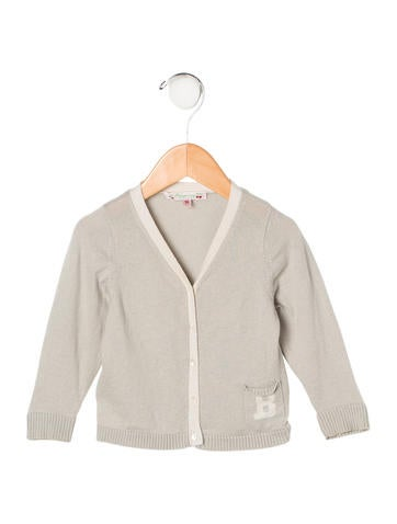 Bonpoint Boys' Rib Knit Cardigan None