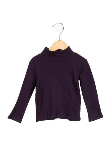 Bonpoint Girls' Long Sleeve Turtleneck Top None