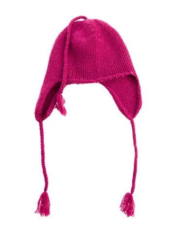 Bonpoint Girls' Cashmere Tassel Beanie None