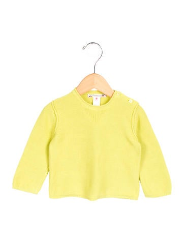 Bonpoint Girls' Knit Long Sleeve Top None