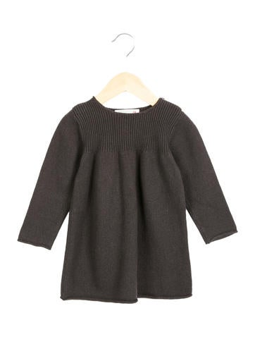 Bonpoint Girls' Long Sleeve Sweater Dress None