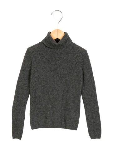 Bonpoint Girls' Cashmere Turtleneck Sweater None