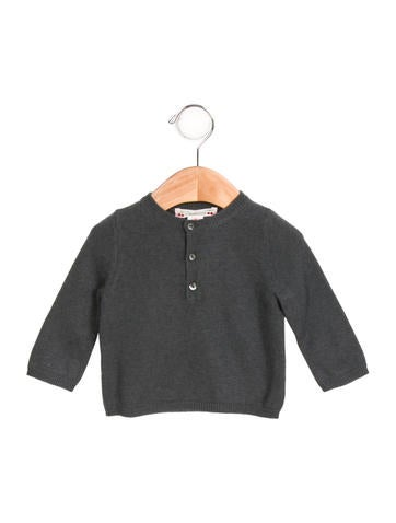 Bonpoint Girls' Wool Long Sleeve Sweater None