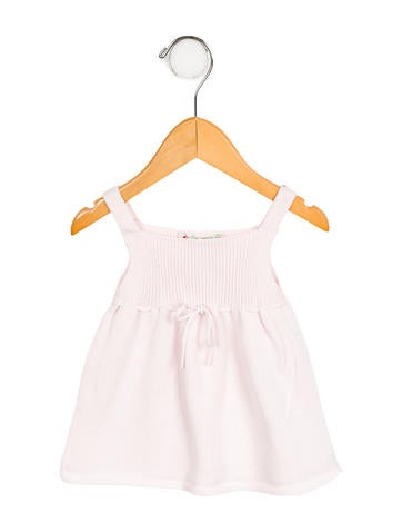 Bonpoint Girls' Knit Sleeveless Top None