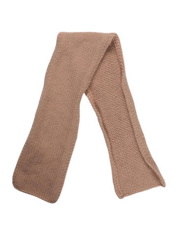 Bonpoint Girls' Rib Knit Cashmere Scarf None