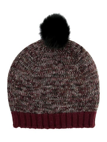 Bonpoint Girls' Wool Pom-Pom Beanie None