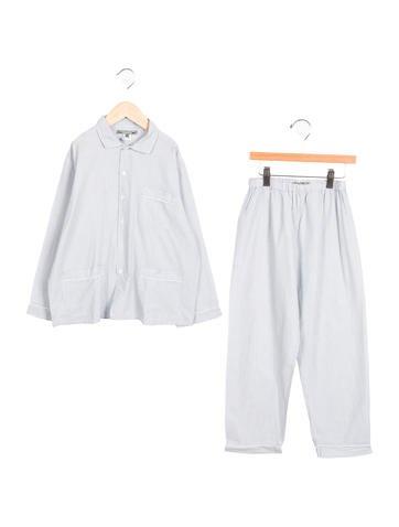 Boys' Button-Up Pajama Set