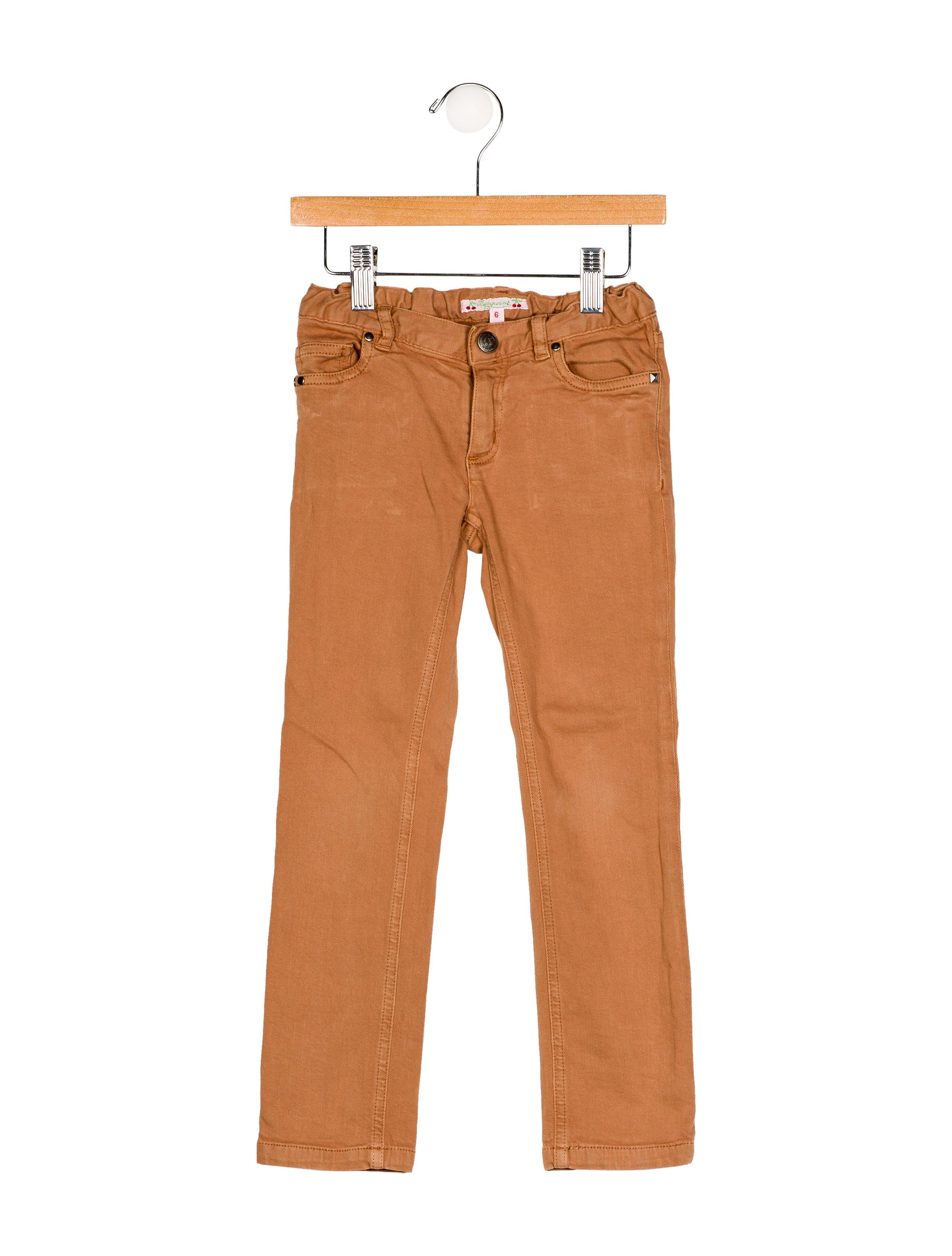BONPOINT Jean girl skinny fit Mb5gB7W8oi