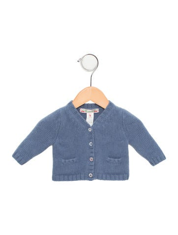 Bonpoint Girls' Cashmere Button-Up Cardigan None