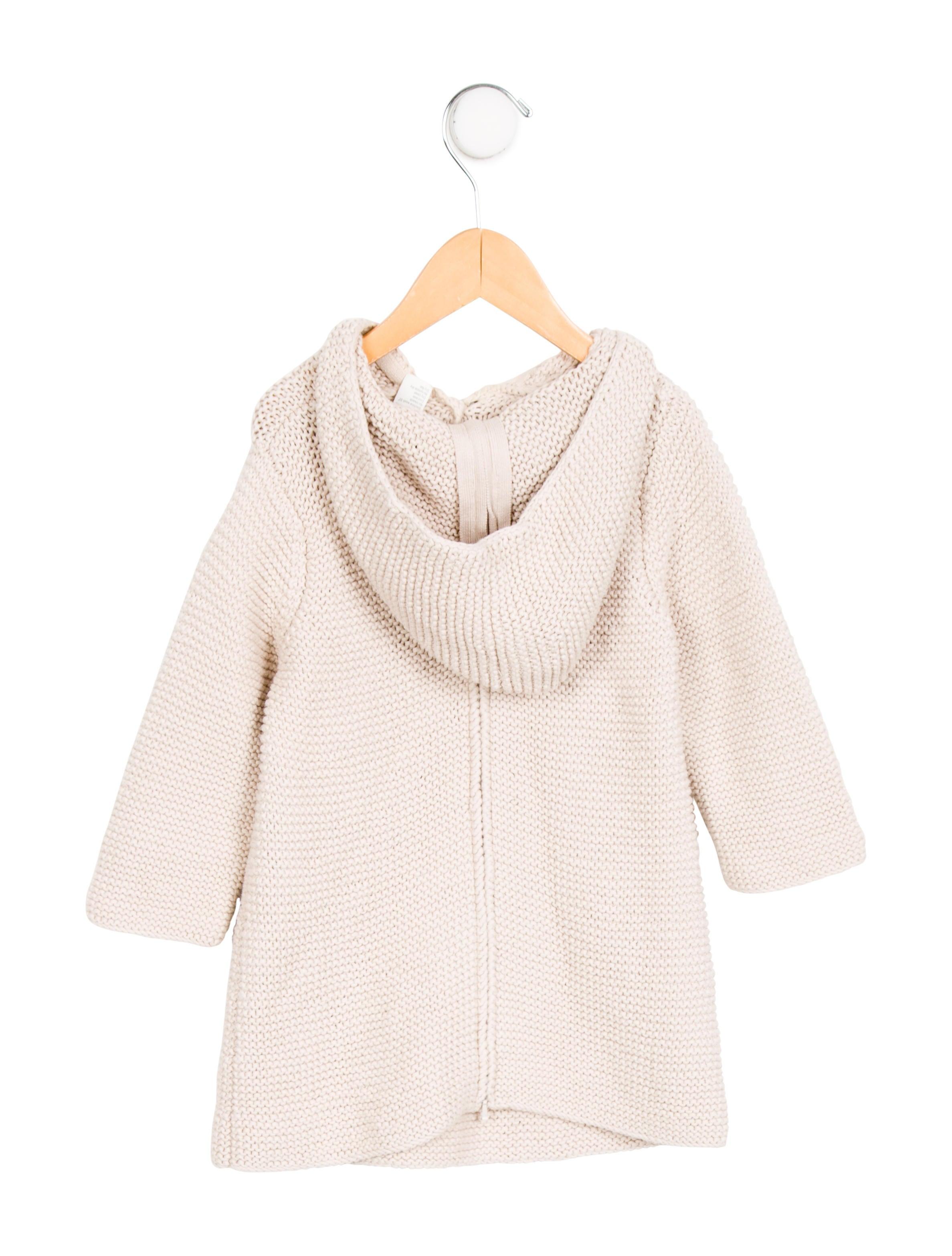 Bonpoint Girls Hooded Knit Dress - Girls - WBONP24778 ...