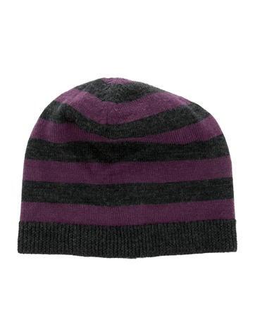 Bonpoint Girls' Wool Striped Beanie None