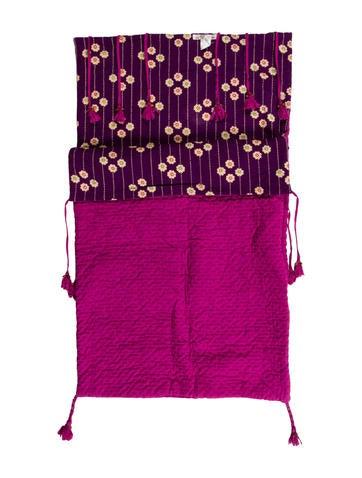 Bonpoint Tassel Accented Stroller Blanket None