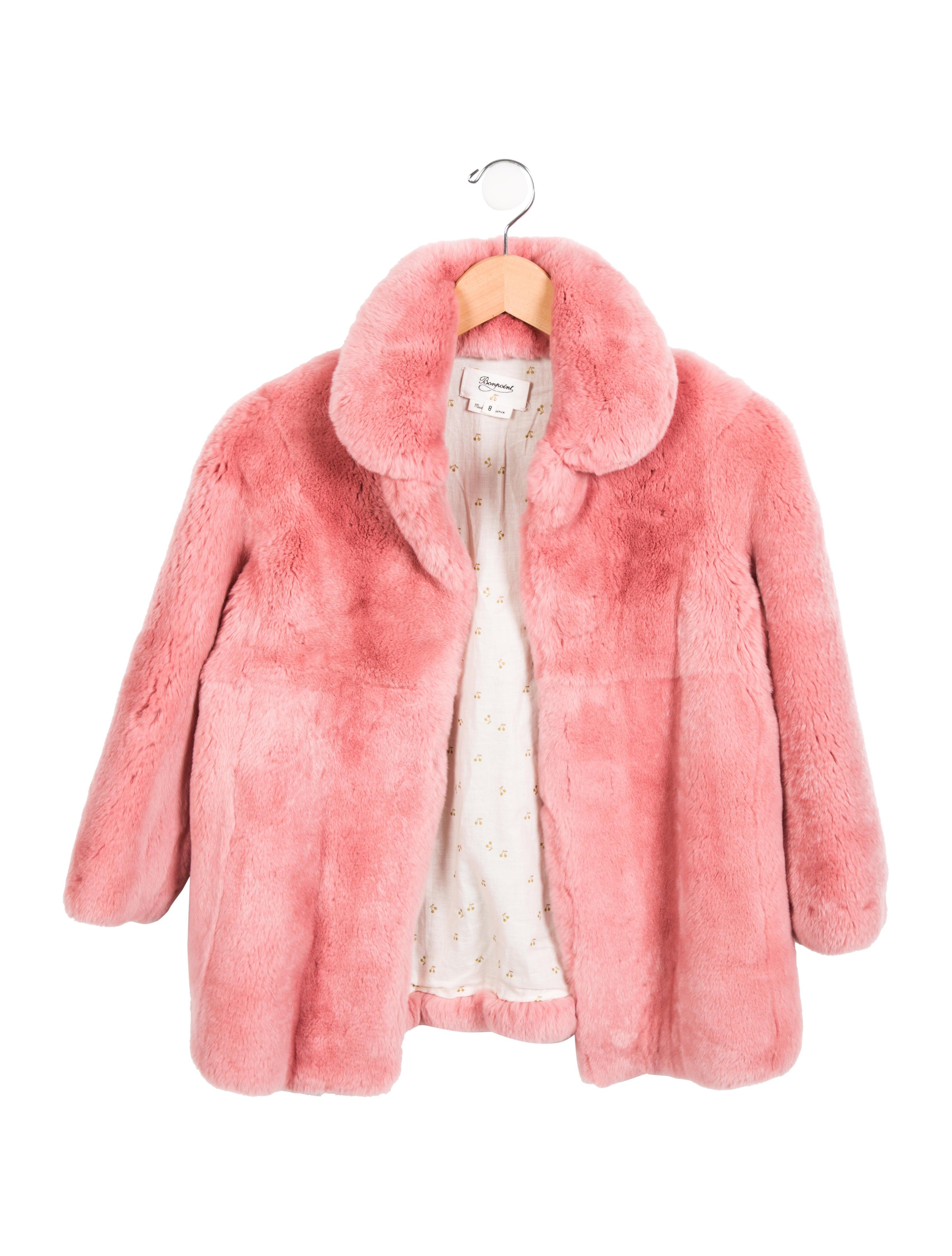 ba70c7ab8519f Ermanno Scervino Girls Pink Classic Wool Coat Children Boutique
