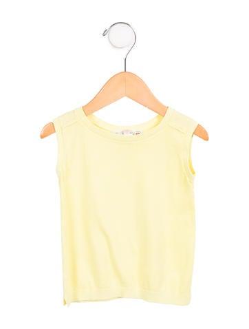 Bonpoint Girls' Sleeveless Knit Top None