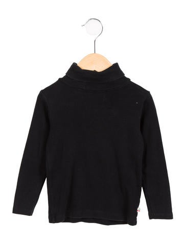 Bonpoint Girls' Knit Turtleneck Top None