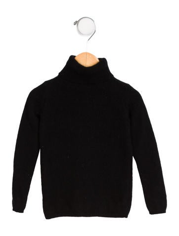 Bonpoint Girls' Cashmere Turtleneck Sweater None