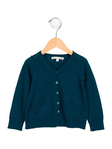 Bonpoint Girls' Wool Cardigan None