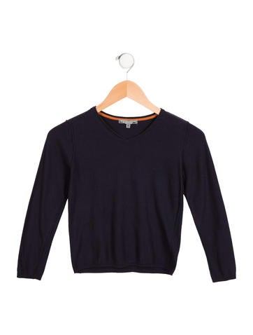Bonpoint Boys' V-Neck Sweater None