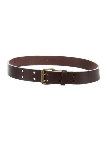 bonpoint boys brown leather belt boys wbonp26202