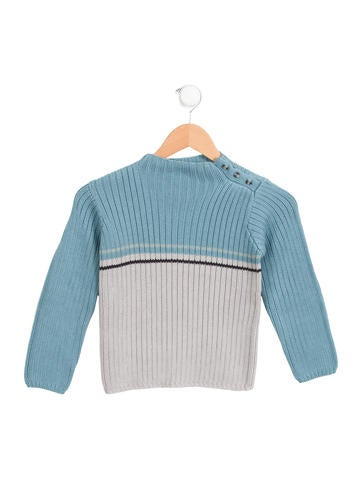 Bonpoint Boys' Colorblock Pullover Sweater w/ Tags None