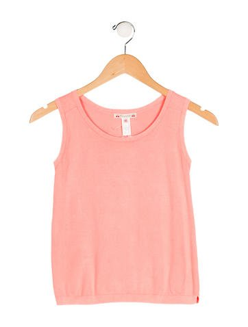 Bonpoint Girls' Rib Knit Sleeveless Top w/ Tags None