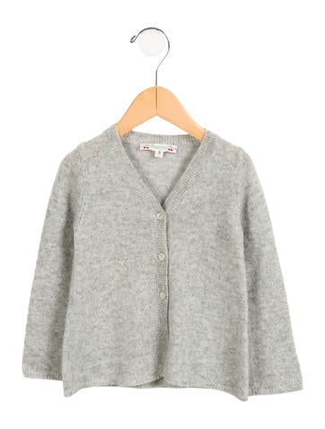 Bonpoint Girls' Button-Up Cardigan None