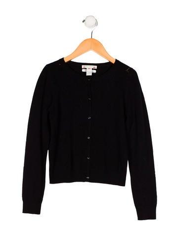 Bonpoint Girls' Cashmere Button-Up Cardigan None