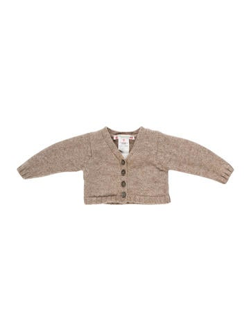 Bonpoint Girls' Wool Button-Up Cardigan None