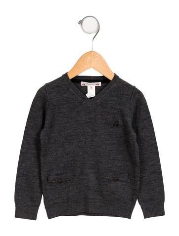 Bonpoint Girls' Long Sleeve Wool Sweater None