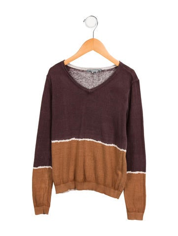 Bonpoint Girls' Wool Knit Top None