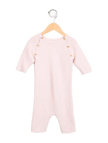 Bonpoint Baby Girls' Cashmere Knit All-In-One None