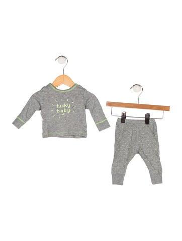 Bonpoint Boys' Printed Knit Pants Set None