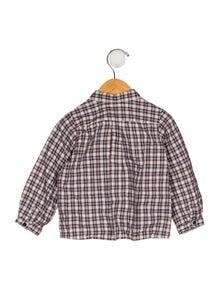 Bonpoint Boys' Plaid Shirt