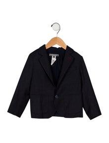 Bonpoint Boys' Virgin Wool Pinstripe Blazer