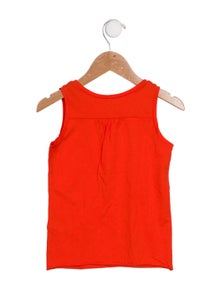 Bonpoint Girls' Sleeveless Scoop Neck Top w/ Tags