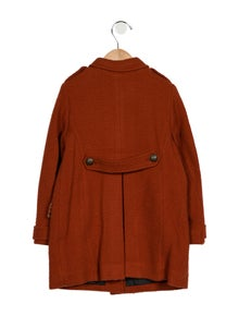 Bonpoint Girls' Wool Button-Up Coat