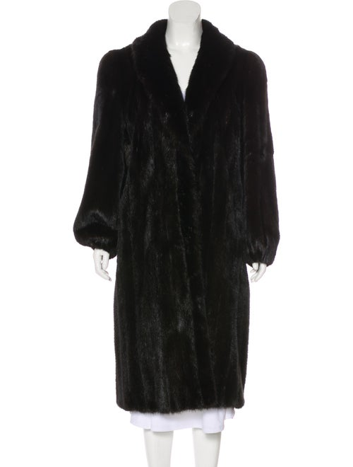 Bonwit Teller Mink Fur Coat brown