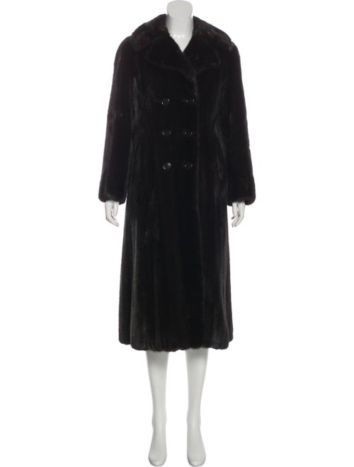 Bonwit Teller Fur Coat Brown