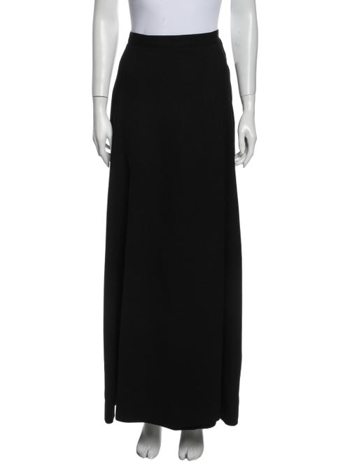 Bonwit Teller Virgin Wool Long Skirt Wool