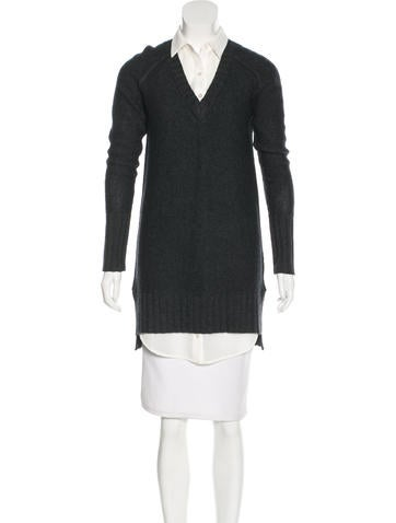 Brochu Walker Wool & Cashmere Dress None