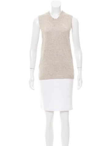 Brochu Walker High-Low Sleeveless Sweater w/ Tags None