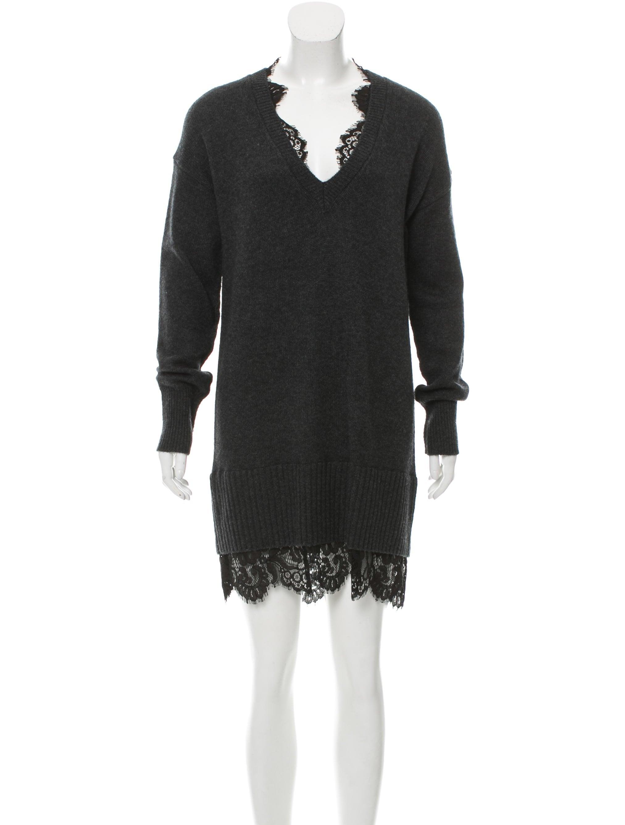 Brochu Walker Lace Looker Sweater Dress - Clothing - WBR20337  961276b9a