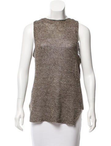 Brochu Walker Sleeveless Knit Top None
