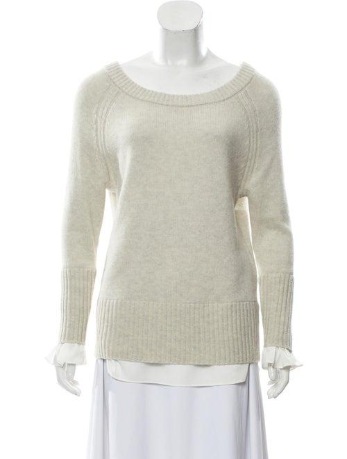 Wool Bateau Neckline Sweater by Brochu Walker