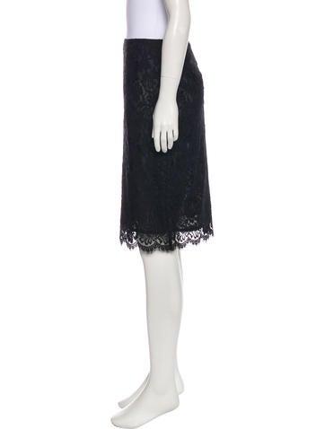 Lace Knee-Length Skirt