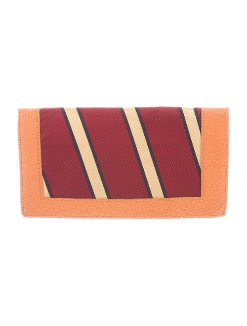 Brooks Brothers Bifold Vertical Wallet tan