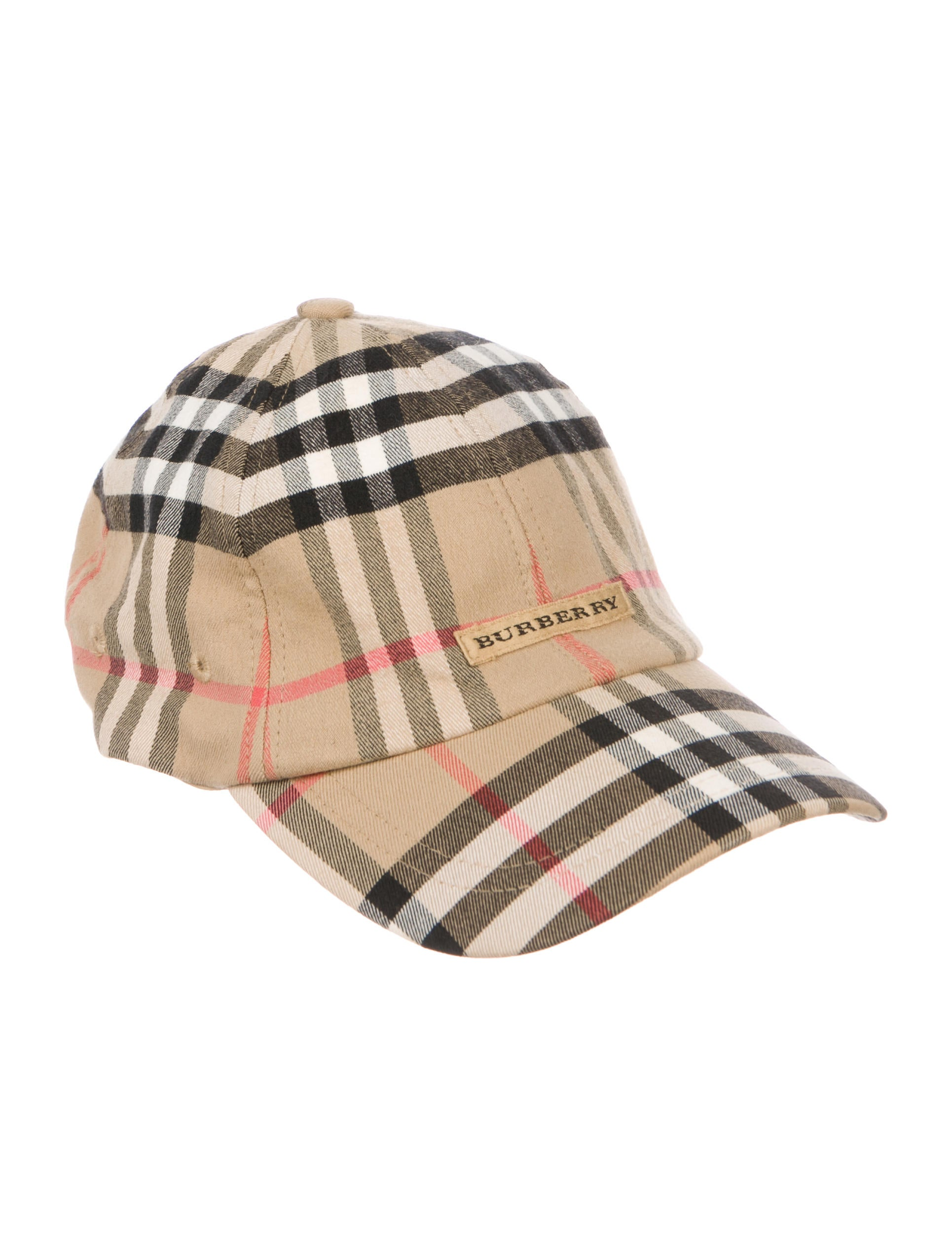 Burberry Golf Nova Check Cap - Accessories - WBRBG20131  9e73450dac9
