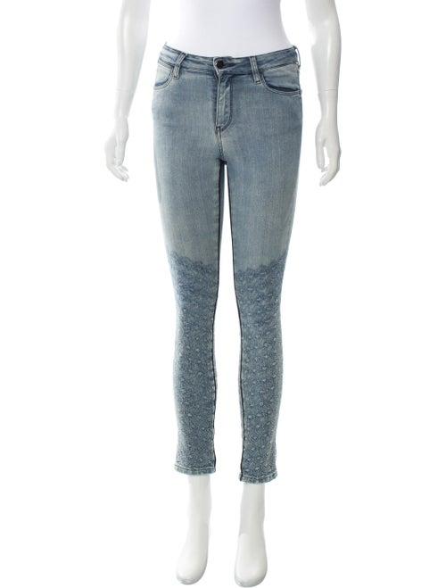 Brockenbow Reina Mid-Rise Jeans blue
