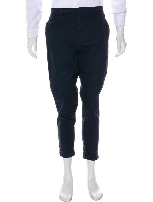 Barena Venezia Plaid Lounge Pants black