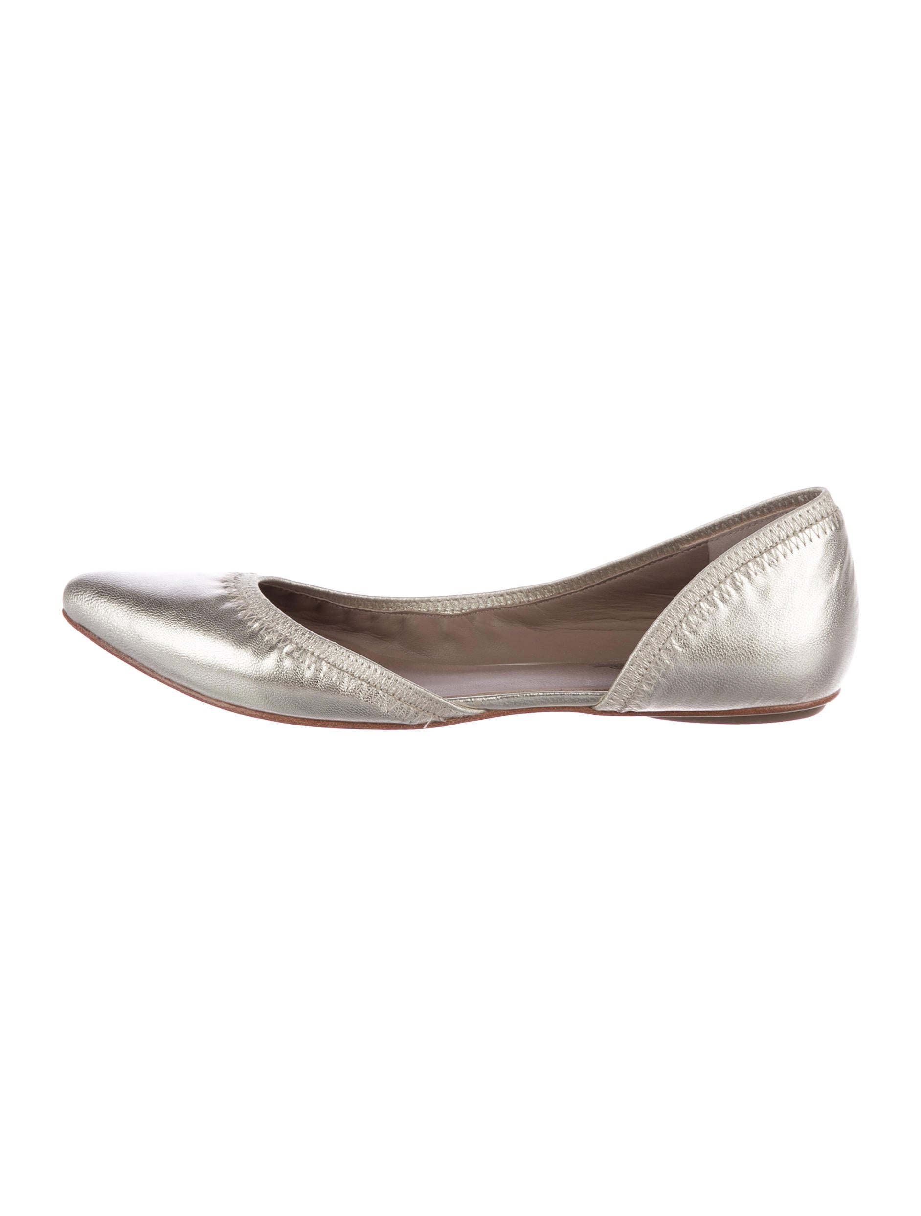 buy cheap low shipping fee Belle by Sigerson Morrison Ice Pointed-Toe Flats w/ Tags cost best store to get Inexpensive sale online clearance footlocker pictures qkmDkv3lz